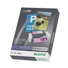 Lamineerhoes Leitz iLam UDT A4 250µ glanzend (100)