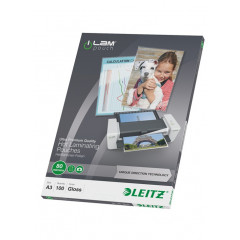 Lamineerhoes Leitz iLam UDT A3 80 micron glanzend (100)