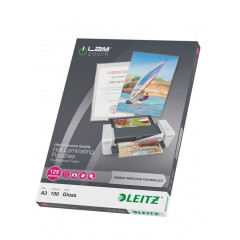Lamineerhoes Leitz iLam UDT A3 125 micron glanzend (100)