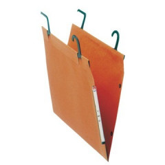 Hangmap Esselte Orgarex T.M.G. karton 200mm 15mm bodem kast oranje (25)(2410200)