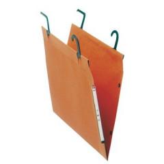 Hangmap Esselte Orgarex T.M.G. karton 200mm 30mm bodem kast oranje (25)(2410200)