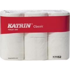 Toiletpapier Katrin Classic 2-laags 200vel (6)