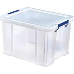 Opbergdoos Bankers Box ProStore 36l transparant