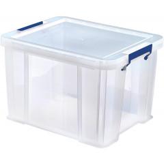 Opbergdoos Bankers Box ProStore 36l transparant (3)