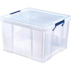 Opbergdoos Bankers Box ProStore 48l transparant