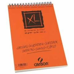 Schetsblok Canson XL A4 90gr 120vel wit