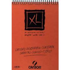 Schetsblok Canson XL A3 90gr 120vel wit
