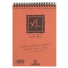 Schetsblok Canson XL A5 90gr 60vel wit
