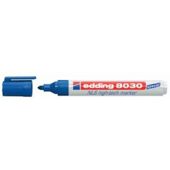 Marker Edding 8030 NLS hightech ronde punt 1,5-3mm blauw
