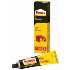 Contactlijm Pattex tix-gel 125gr