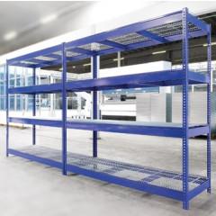 Rek Avasco Industrie metaal met 4 legborden