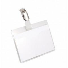 Badge Durable 60x90mm met klem (25)(D810619)
