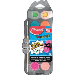 Waterverfdoos Maped Color'Peps 12 napjes assorti