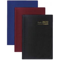 Zakagenda Brepols Trade Seta 77x120mm assorti 2022 1 dag/pagina