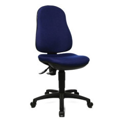 Bureaustoel Topstar point 70 blauw