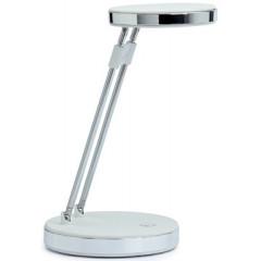 Bureaulamp Maul puck LED chroom wit