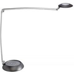 Bureaulamp Maul MaulSpace LED dimbaar zilver