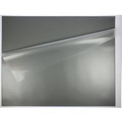 Bureau-onderlegger 5 Star met folie 52x65cm grijs