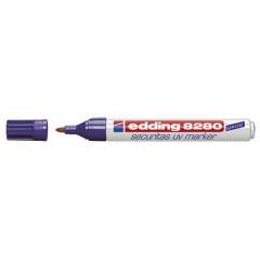 UV-marker Edding 8280 Securitas ronde punt 1,5-3mm transparant