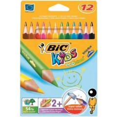 Kleurpotlood Bic Kids ecolutions evolution triangle (12)