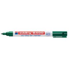Marker Edding 8400 CD/DVD/BD permanent ronde punt 0,5-1mm groen
