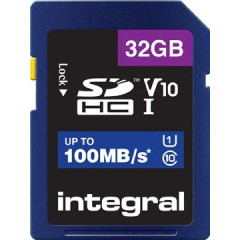 Geheugenkaart Integral SDHC 32GB