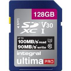 Geheugenkaart Integral SDXC 128GB