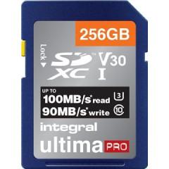 Geheugenkaart Integral SDXC 256GB