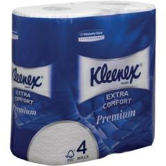 Toiletpapier Kleenex Extra Comfort 2-laags 160 vel (4)