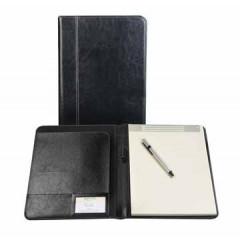 Schrijfmap Brepols palermo 24x31,5cm zwart