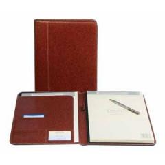 Schrijfmap Brepols palermo 24x31,5cm bruin