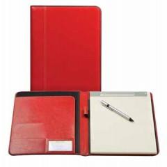 Schrijfmap Brepols palermo 24x31,5cm rood