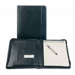 Schrijfmap Brepols palermo luxe 27x33cm zwart