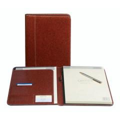 Schrijfmap Brepols palermo 19,5x24,3cm bruin