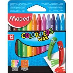 Waskrijt Maped Color'Peps assorti (12)