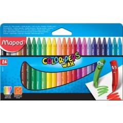 Waskrijt Maped Color'Peps assorti (24)