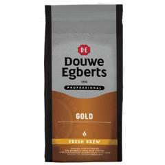 Koffie Douwe Egberts Gold Fresh Brew voor automaten 1kg