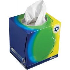 Zakdoekdoos Kleenex 2-laags 56stuks wit
