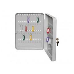 Sleutelkast Alco 200x160x80mm voor 20 sleutels grijs