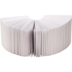 Memokubusvulling Folia 90x90mm 700vel gelijmd wit