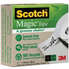 Plakband Scotch A Greener Choise 19mm x 30m ECO