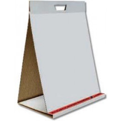 Flipchartblok Pergamy Table Top 58,5x50cm 70g blanco 20vel