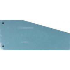 Scheidingsstrook Pergamy trapezium 190g blauw (100)(152BE)