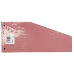 Scheidingsstrook Pergamy trapezium 190g rood (100)(152RE)