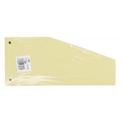 Scheidingsstrook Pergamy trapezium 190g geel (100)(152JE)