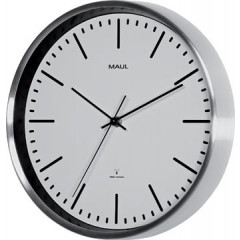 Wandklok Maul Fly diameter 30 wit