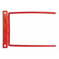 Archiefbinder D-clip 115mm rood