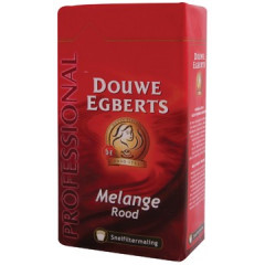 Koffie Douwe Egberts Melange rood gemalen 250g