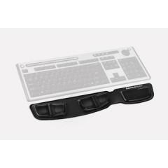 Polssteun Fellowes Health-V Crystal toetsenbord zwart