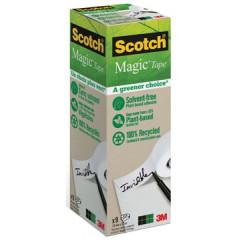 Plakband Scotch Magic Tape A Greener Choice 19mm x 33m (9)ECO